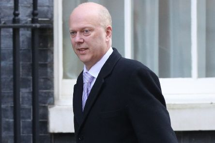 Transport Secretary Chris Grayling. Picture PA