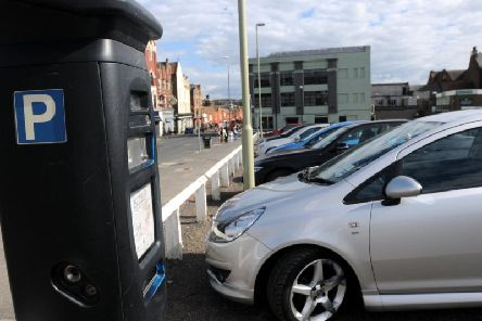 Parking in South Shields town centre