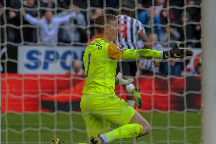 Jordan Pickford. (Pic: Martin Swinney)