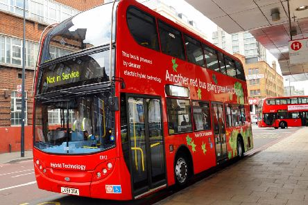A Transport for London bus. Picture by PA