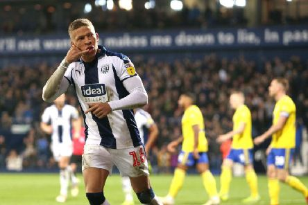 Dwight Gayle has returned to Newcastle United after a succesful loan spell at the Hawthorns (Getty).