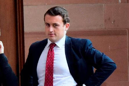 Dangerous driver accountant John Kavanagh, who has received a suspended prison sentence at Newcastle Crown Court after he drunkenly drove for five miles with his car bonnet covering the windscreen following a crash in Boldon before colliding with a telegraph pole.