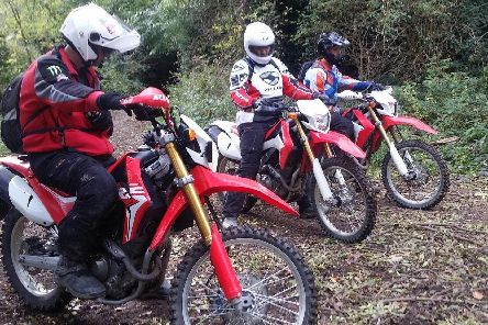 Off road police officers like these are operating in Doncaster to deal with nuisance bikers and quadbikers