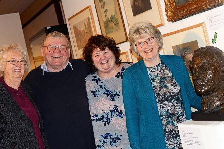 Margaret Baker, Dave Adgar, Chair, Christine Djezzar and Angela Shoulder, Friends of Doncaster Museum committee members pictured. Picture: Marie Caley NDFP-12-01-19-FriendsofMuseum-1
