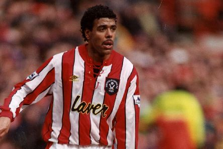 Chris Kamara during his time at Sheffield United
