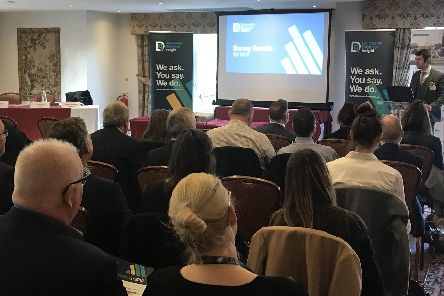 Dan Fell, CEO, Doncaster Chamber, delivers the results of the latest Doncaster Business Insight Survey