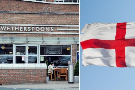 Wetherspoons has not banned England flags but has issued guidance to staff