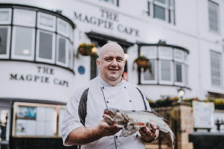 Paul Gildroy, award-winning head chef of the famous Magpie Caf in Whitby