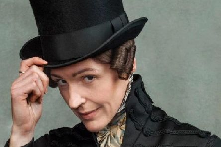 Suranne Jones as Anne Lister (Picture BBC, Photographer: Ben Blackall)