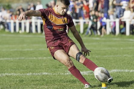 Aiden Ineson scored a try and kicked seven goals.