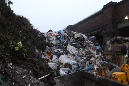 The skip hire firm dumped waste in St Helens, Newton-le-Willows and Warrington