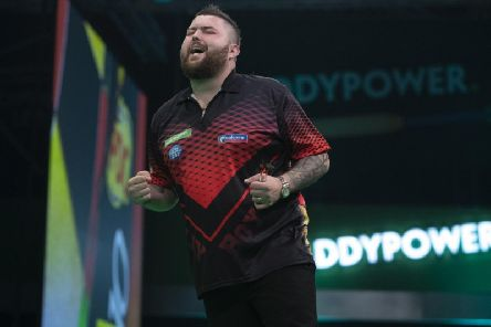 Michael Smith. Picture Lawrence Lustig PDC