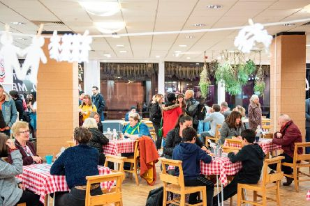 The Madlove Take Over  pop-up arts festival in the Hardshaw Centre