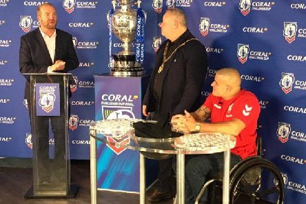 The first round draw for the Coral Challenge Cup has taken place