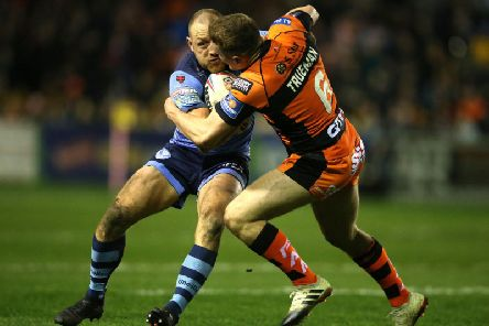 James Roby tangles with Jake Trueman