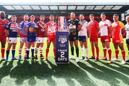 Magic Weekend takes place at Anfield on Saturday and Sunday. Picture: SWPix