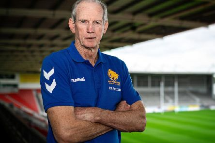 Wayne Bennett at St Helens this week. Picture: SWPix