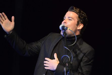 Joe McElderry was due to perform at The Empire Theatre in Consett last night.