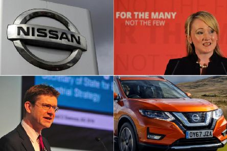 Shadow Business Secretary Rebecca Long-Bailey, top right, says the Government, and Business Secretary Greg Clark, bottom left, have some questions to answer about the secret deal offered to Nissan.