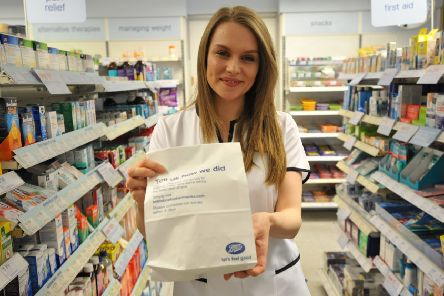 Boots Pharmacy technician Natalie Laing, nominated for Best of Health Award for being friendly and accommodating.