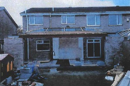 The victim was left with an unfinished extension, despite paying out almost'28,000 to Michael Anthony Fagans company Swift Construction NE Ltd