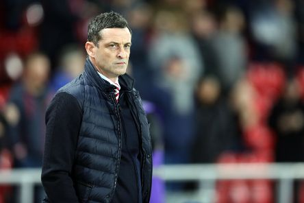 SUNDERLAND, ENGLAND - FEBRUARY 15: Sunderland manager Jack Ross during the Sky Bet League One match between Sunderland and Accrington Stanley at Stadium of Light on February 15, 2019 in Sunderland, United Kingdom. (Photo by Ian Horrocks/Sunderland AFC via Getty Images)