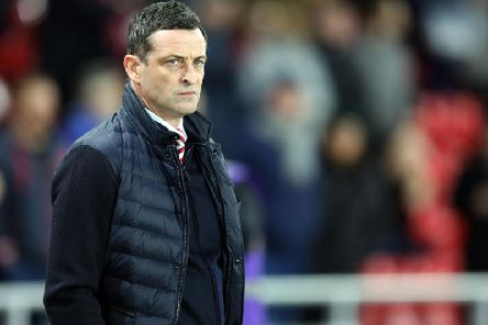 Sunderland boss Jack Ross