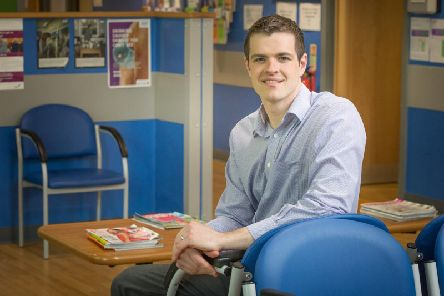 Lead researcher Andrew Sturrock, Principal Lecturer and Programme Leader for the Master of Pharmacy programme at Sunderland University.