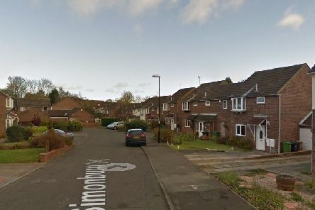 Firefighters were called to Simonburn, in Oxclose, Washington. 'Image by Google Maps.