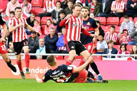 Aiden McGeady in action for Sunderland in the win over Doncaster Rovers.