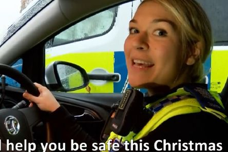 Song for Christmas: Police safety message top of the cops!