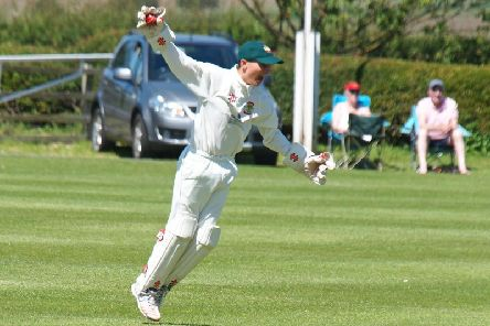 Marley Ward in action for Flixton