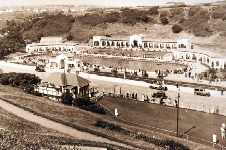 Do you remember the 'Puny Pool' in Scarborough's North Bay?