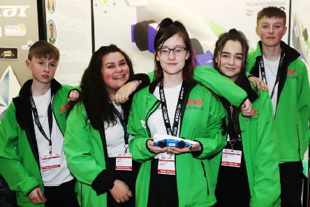 Avidity Racing, a team from Scarborough UTC, won three awards at the recent F1 in Schools UK Finals.