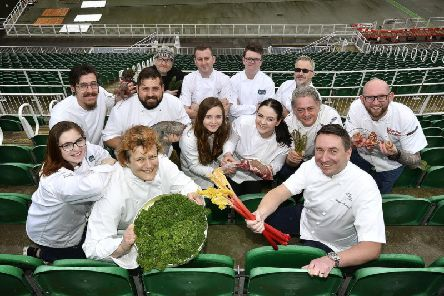 Some of the chefs who will be demonstrating at the festival