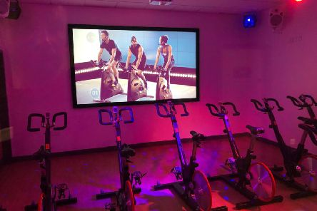 Scarborough Sports Village's brand new group cycling studio