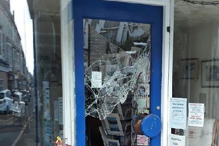 St Catherine's charity shop targeted by burglars.
