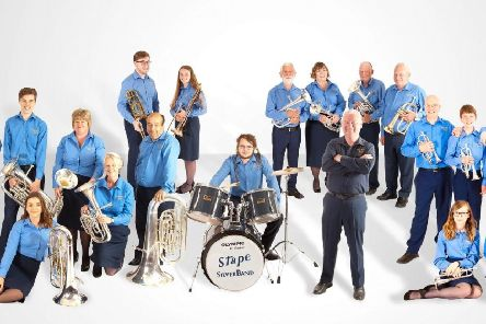 Stape Silver Band will be performing at Pickering's Kirk Theatre on Saturday, September 7.