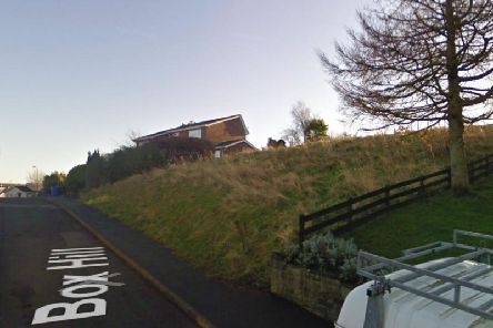 The land on Box Hill has been sold by the council. PIC: Google