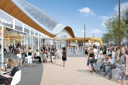 The proposed �300 million Meadowhall extension.