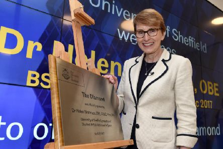 Helen Sharman. Picture by Andrew Roe