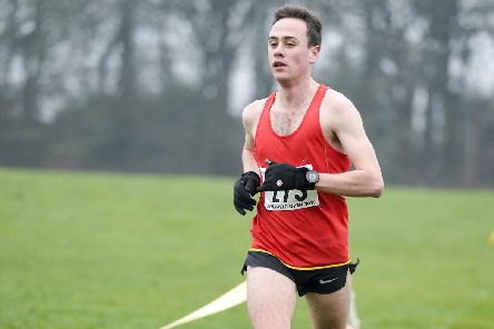 Sheffield Open Cross Country Championships winner Phillip Radford of Hallamshire Harriers. Picture Dean Atkins
