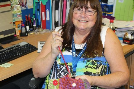 Andrea Blackett loves her time volunteering with Sheffield Hospitals Charity