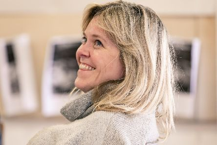 Lizzie Roper in rehearsals for Rutherford and Son at the Crucible Theatre, Sheffield. Picture: The Other Richard