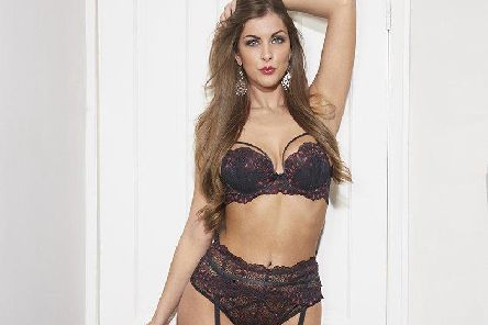 Lingerie from Sheffield brand Lucy May Lingerie. The items pictured are from the Maybella collection