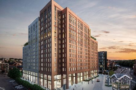 How Sheffields 14-storey LIVStudent building will look on completion