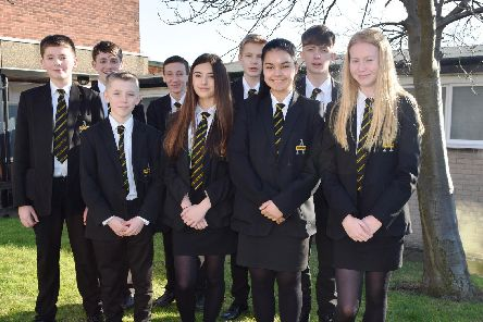 Swinton students at the Holocaust Centre