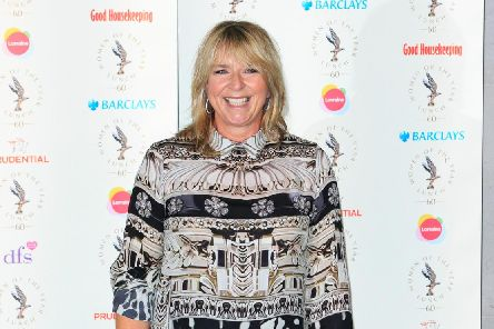 Fern Britton. (Photo by John Phillips/Getty Images)