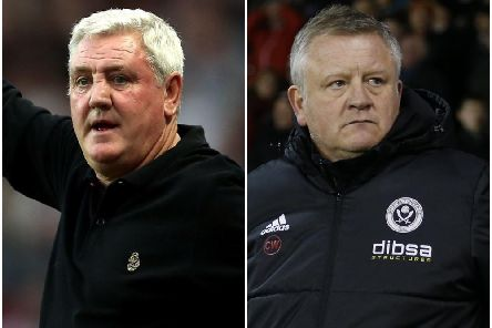 Steve Bruce and Chris Wilder