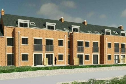 Artist's impression of the Church Street retirement apartments